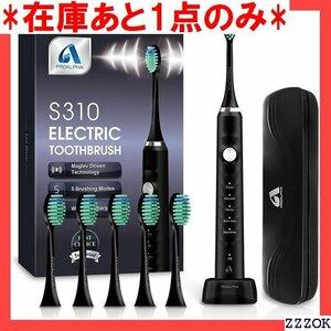 在庫あと1点のみ 電動歯ブラシ 音波歯ブラシ ソニック USB充電式 I ング 歯ブラシ 高級感のあるブラック メーカー一年 13