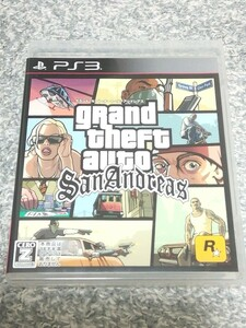 PS3 グランド・セフト・オート サンアンドレアス