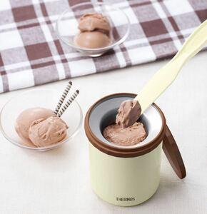 THERMOS 真空断熱アイスクリームメーカー サーモス
