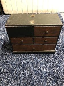 小物入れ 小型 木製 レトロ アンティーク レトロ家具 小物収納 生活骨董 古道具 KS