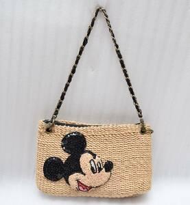 コラボ ビームス ボーイ BEAMS BOY ディズニー DISNEY ミッキーマウス チェーン ショルダー バッグ / かご ハンドバッグ 鞄