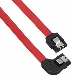変換名人 SATA2(3Gbps対応)ケーブル I - 左L ロック付 50cm SATA-CA50ILL(新品未使用品)