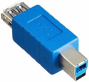 変換名人 USB3.0接続ケーブル A(メス) - B(オス) USB3AB-BA(新品未使用品)