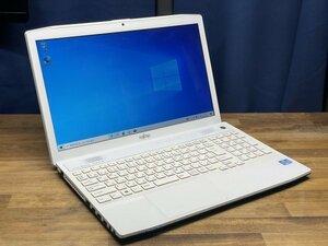 富士通 上位モデル LIFEBOOK AH77/J 大画面15.6 Core i7 3632QM/ メモリ8GB/ HDD:1TB/ Blu-ray/ カメラ/Office /説明書あり/ Win10