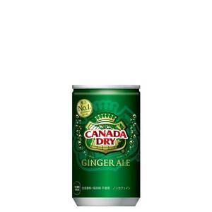 カナダドライ ジンジャエール 160ml 30本 (30本×1ケース) ミニ缶 炭酸飲料 ginger ale 安心のメーカー直送 コカコーラ社【送料無料】
