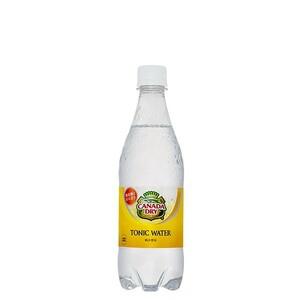 カナダドライ トニックウォーター 500ml 24本 (24本×1ケース) PET ペットボトル 炭酸飲料 tonic water コカコーラ社【送料無料】