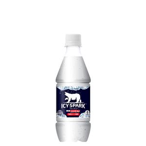 アイシー・スパーク フロム カナダドライ PET 430ml 24本 (24本×1ケース) ペットボトル 炭酸水【送料無料】