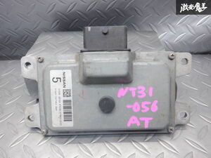保証付 日産純正 NT31 エクストレイル H22年 AT ミッション コンピューター 31036-JG15A 即納