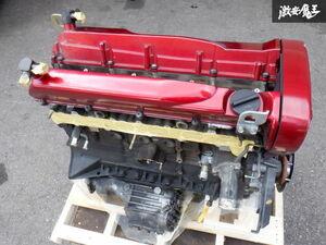 保証付 日産純正 BNR34 スカイライン GT-R RB26DETT エンジン本体 05U エンジンブロック オイルパン ER34 BCNR33 BNR32 走行距離 約95000km