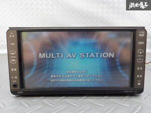 保証付 トヨタ純正 HDDナビ NHDT-W57 08545-00Q60 地図データ 2016年 CD再生 DVD再生 ワンセグ カーナビ