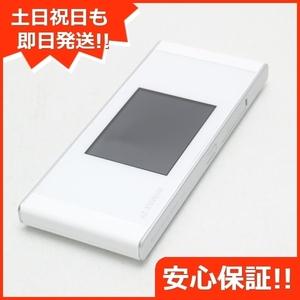 安心保証 美品 HWD36 Speed Wi-Fi NEXT W05 ホワイト×シルバー 本体 白ロム 即日発送 土日祝発送OK