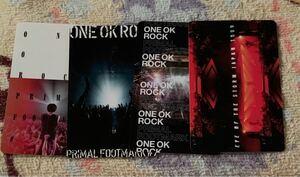 ONE OK ROCK PRIMAL FOOTMARKメンバーズカード
