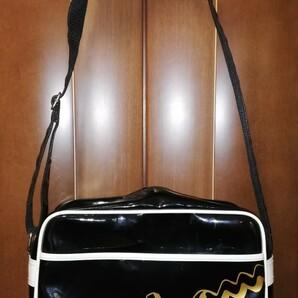 チャンピオン スポーツバッグ エナメルバック 黒色