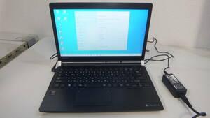 送料無料#059 爆速SSD搭載!! TOSHIBA dynabook R73/W /Windows10 Home 正規認証 MAR/Core i5 5世代/16GB/SSD 128GB/ Bluetooth/Office2019