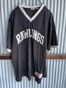 Y137GS 古着 ローリングス ゲームシャツ ベースボール