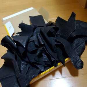 1点限り シャークレザー 鮫革 ハギレ レザークラフト ハンドメイド材料 タグ