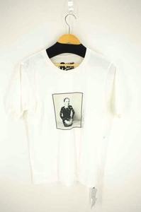 リリーブラウン Lily Brown デヴィッド・ボウイfeat. フロントプリントT クルーネックTシャツ レディース 中古 古着 210820