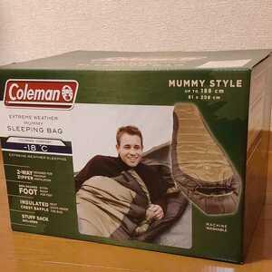 コールマン マミー型 寝袋 シュラフ NORTH RIM ノース リム