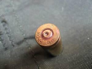 【安全品】 9mm ベレッタ 空薬莢 米軍実物品 ダミーカート 1発