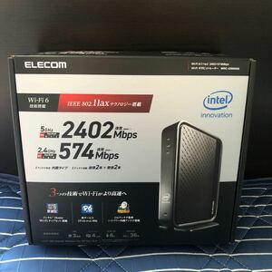 【値下げ】未開封  ELECOM 高速無線LANルーター Wi-Fi6(11ax)搭載 ギガビッドルーターWRC-X3000GS