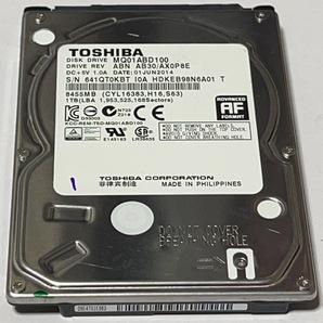 使用時間 395H TOSHIBA MQ01ABD100 1TB 081412