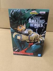僕のヒーローアカデミア ヒロアカ フィギュア THE AMAZING HEROES vol.13 緑谷出久