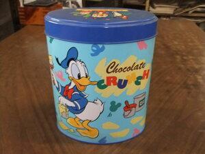 【レトロ】 1998年 東京ディズニーランド お菓子 缶 ドナルドダック 小物入れ 容器 愛知県から出品  店頭引取り 直接引き取り大歓迎