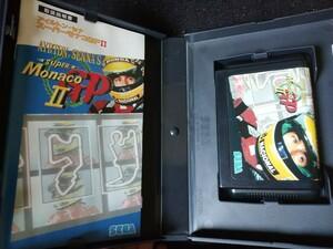 メガドライブ ソフト スーパーモナコGP1+2    2本セット