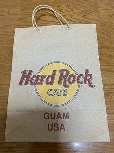 ハードロックカフェ紙袋グアム(難あり)
