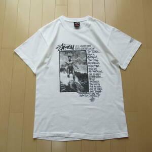 ★即決送込★希少非売品 M STUSSY ステューシー 2007 20th オールド T-shirt Tee Tシャツ 半袖 old oldstussy l xl 白 ニュービンテージ