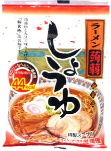 こんにゃく ラーメン 醤油味 12食 ナカキ食品 蒟蒻麺