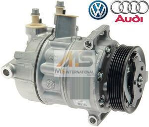 【M's】VW ゴルフ5(1K) ゴルフ6(5K) ゴルフプラス(5M) ザ・ビートル(5C) 優良社外品 エアコンコンプレッサー/ACコンプレッサー 1K0820859S