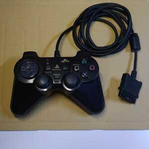 PS2 プレステ2 フジワーク コントローラー ブラック 動作確認済み