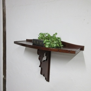 イギリス アンティーク 家具 SALE セール ウォールシェルフ シェルフ 飾り棚 木製 英国 OTHERFUNITURE 6825b 特価