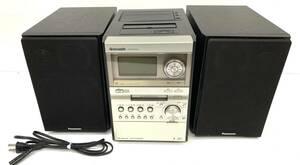 送料無料h27847 Panasonic パナソニック SDステレオシステム SA-PM870SD コンポ