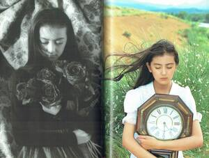 高橋かおり写真集 少女の行方 安珠=写真・小説 1991年 東京書籍