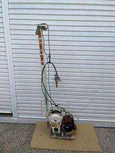 ひっぱりだこ セイレイ工業 PW350 ウインチ 混合 ガソリン 吊り作業 始動確認済み