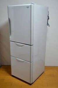 S619)日立 HITACHI ノンフロン 冷凍冷蔵庫 R-27DS 2013年製 3ドア 265L まんなか野菜室 Ag除菌・脱臭フィルター 高さかわるん棚 コンパクト