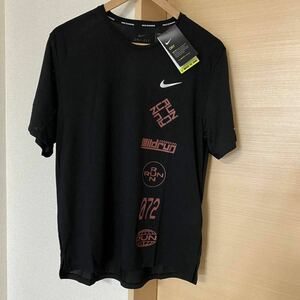 新品 NIKE Tシャツ Lサイズ CU6039 ナイキ ランニング DRI-FIT マイラー ウインドランナー 半袖シャツ 送料込 速乾 ドライフィット