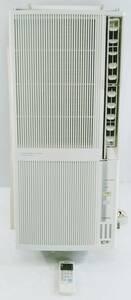 【良品】コロナ ウインドエアコン (冷暖房兼用タイプ) 液晶リモコン付 シェルホワイト CWH-A1817(WS)