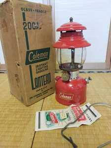 点火確認済 コールマン ランタン 200A ビンテージ ヴィンテージ