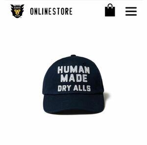 21SS HUMAN MADE 6PANEL TWILL CAP #2 NAVY DUCK ヒューマンメード ヒューマンメイド キャップ ネイビー NIGO ダック かも