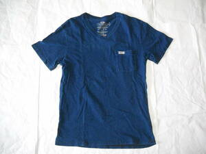 381 BLUEBLUE デニムカラー Tシャツ Sサイズ