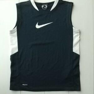 ナイキ Nike DRI-FIT タンクトップ紺 ボーイズ145