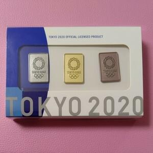 東京オリンピック エンブレム ピンバッジ 3種