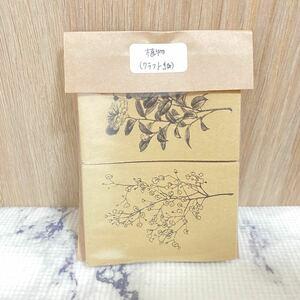 海外ミニペーパー(植物・クラフト紙)