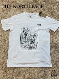 ノースフェイス THE NORTH FACE Tシャツ チャリティ NT32088C 速乾 静電気ケア UVカット85%以上 新品 L ボルタリング オリンピック