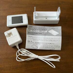 UQ WiMAX WX03 モバイルルーター  クレードル