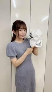 [エイズ孤児支援チャリティー]櫻川めぐさん直筆サイン入り私物キャップ