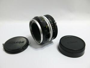Nikon NIKKOR-S Auto 5㎝ F2 Nippon Kogaku 9枚絞り PAT.PEND. ニコン [管KP348]